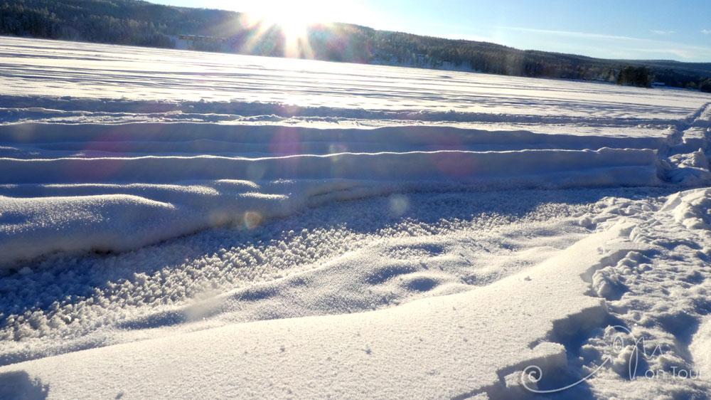 Idresjön - mit 40 cm Frosthaube