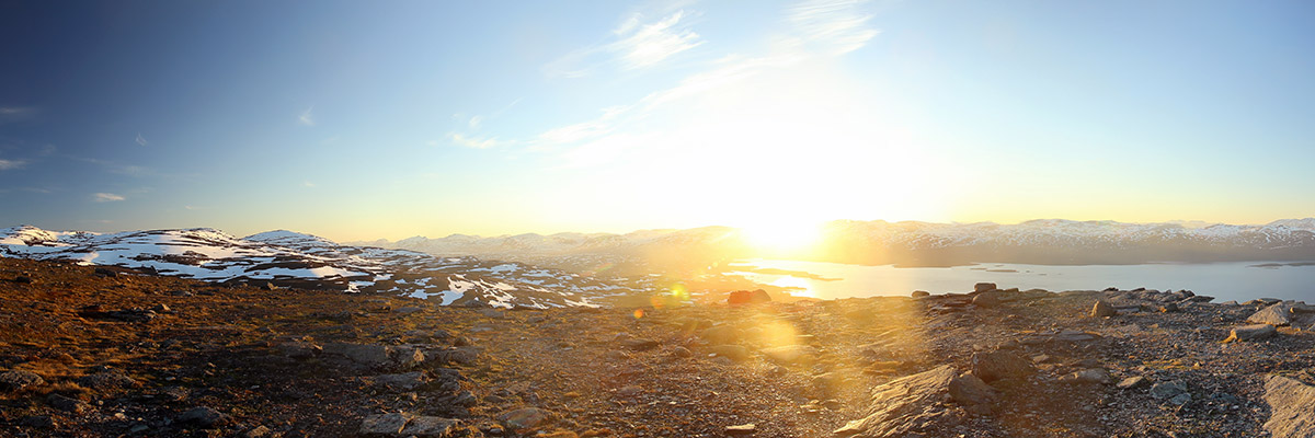Sommersonnenwende 2020 in Lappland